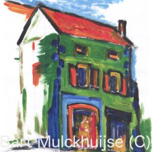 het-groene-huis-la-maison-verte-acryl