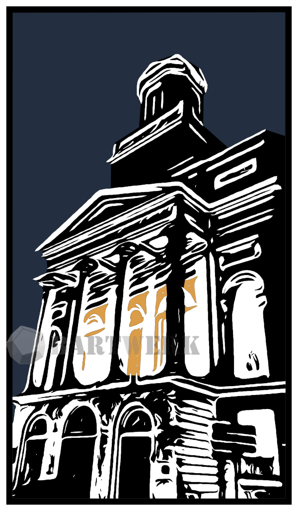 digital-woodcut-linocut--hiver-a-leiden-holland