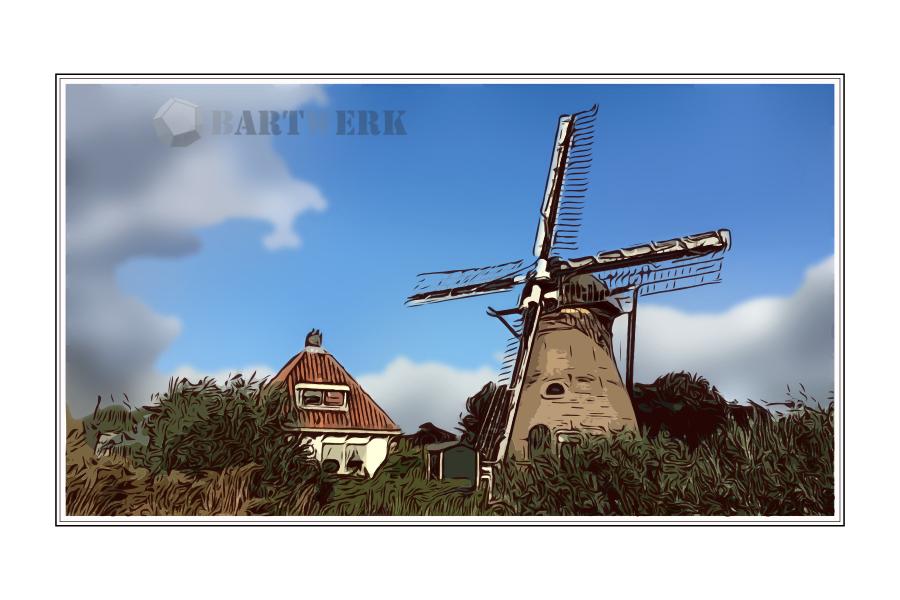stadsmolen-stinksloot-leidsche-ommelanden-holland