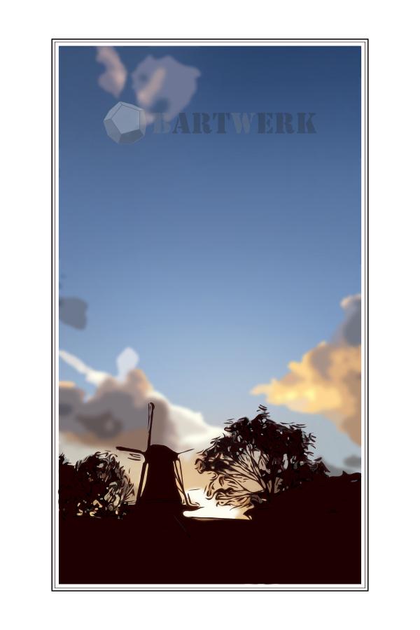 heesterboom-zonsondergang-leidsche-ommelanden-holland